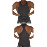 C311 Crazee Wear Mens Racerback Tank Top