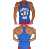 P301 Pitbull Gym Barbells String Tank Top