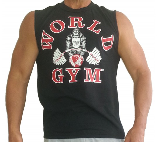 World Gym sleeveless muscle shirt
