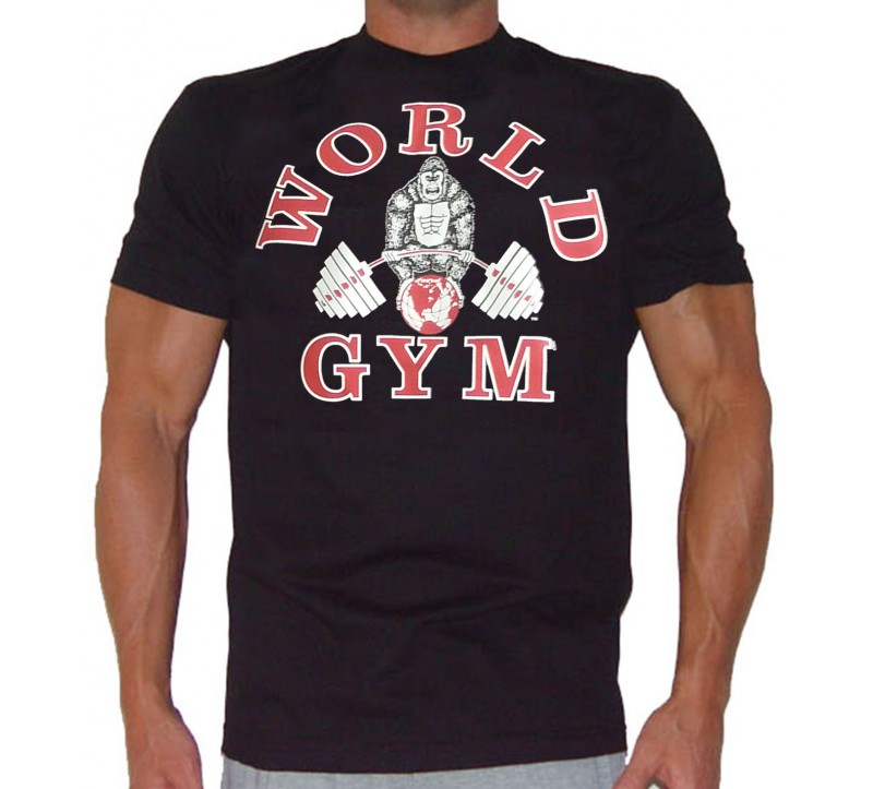Bodybuilding shirts w101 world gym bodybuilding t shirts for Best fitness t shirts